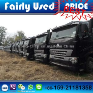 Used Sinotruck HOWO Truck Tractor 380HP for Transportation