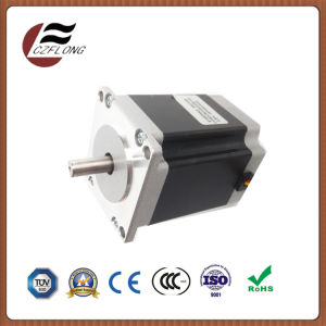 Small Noise 86*86mm NEMA34 2phase Stepper Motor for 3D Printers pictures & photos