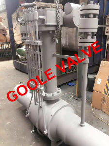 Full Port Discharging Type Fully Welded Ball Valve (GAQ61PPL) pictures & photos