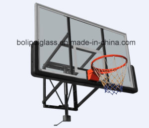 Black PU Padding Toughened Glass Backboard Wall Mounting Backboad System pictures & photos