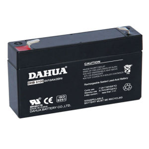 6V 10ah VRLA Sealed Lead Acid Maintenance Free UPS Battery pictures & photos