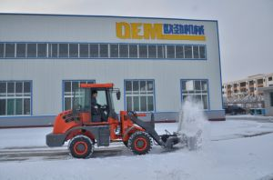 Strong Shovel Loader Oj-16 with Snow Plough pictures & photos