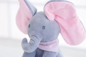 Electronic Talking and Moving Elephant Plush Toys pictures & photos