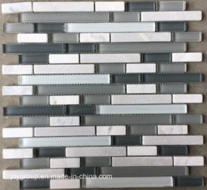 Glass Mosaic in Horizon Mix Jy44k pictures & photos