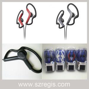 3.5mm Sports Hanging Waterproof Game Headphones Earphone pictures & photos