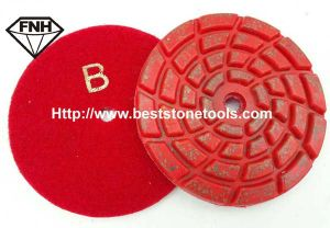 Cr-39 Concrete Polishing Tool of Grinding Stone Pads pictures & photos