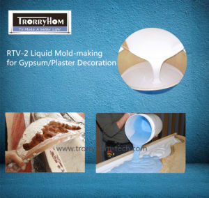 MSDS Tin-Cure Silicone Rubber for Plaster Molding pictures & photos