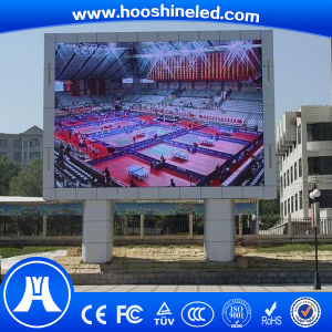 Steady and Reliable System Outdoor P10 RGB Display Wall pictures & photos