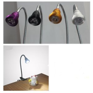 Spring Loaded Clamp LED Desk Lamp pictures & photos