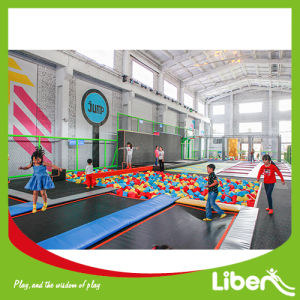 Free Jump Area on Kids Indoor Trampoline pictures & photos