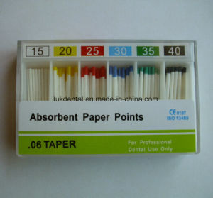 High Quality and Hot Sale 0.06 Dental Absorbent Paper Points pictures & photos