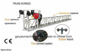 Manual Winches Vibratory Truss Screed Gys-200 Floor Polishing Machine pictures & photos