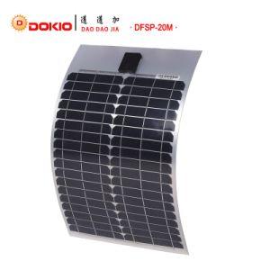 20W Monocrystalline Semi Flexible Solar Panel pictures & photos