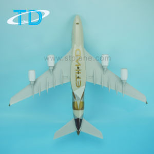 Edihad New A380 1/200 37cm Plastic Airplane Model pictures & photos