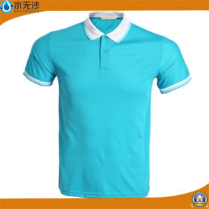 Factory Wholesale Men Sport T-Shirts Stretch Polo Shirts pictures & photos