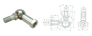 Zinc Alloy Ball Joint Rod End Bearing pictures & photos