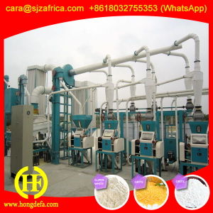 Corn Flour Milling Machine for Africa pictures & photos
