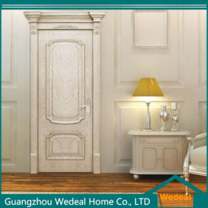 Customize Modern Solid Wooden Door for Hotel/Houses pictures & photos