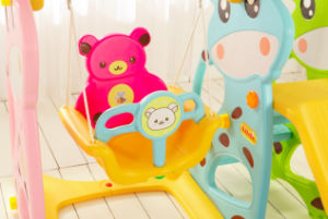 2017 Deer Style Cheap Baby Swing Toys with Ce Certification (HBS17007B) pictures & photos