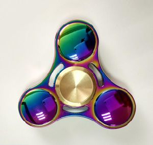 Rainbow Color Fidget Spinner pictures & photos