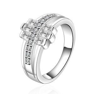 Fashion Jewelry 925 Silver Rings with Clear AAA CZ Micro Setting pictures & photos