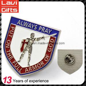 Promotion Gift Wholesale Custom Soft Enamel Logo Gold Metal Lapel Pins pictures & photos