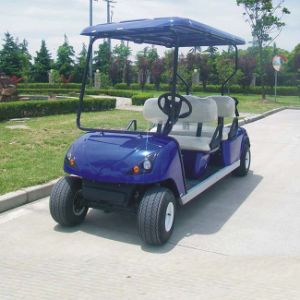 4 Seater Cheap Zone Electric Golf Cart (DG-C4) with Ce pictures & photos