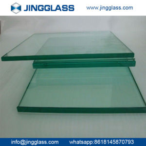 Clear Tempered Reinforced Safety Glass with Polished Edges pictures & photos