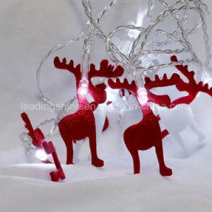Deer Starry Fairy String Light Waterproof Decorative for Indoor Bedroom Festival Christmas pictures & photos
