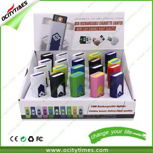 Flameless Cigarette Lighter/Electric Cigarette Lighter/Plastic Lighter pictures & photos