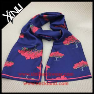 Long Printed High Fashion Designer Silk Scarf pictures & photos