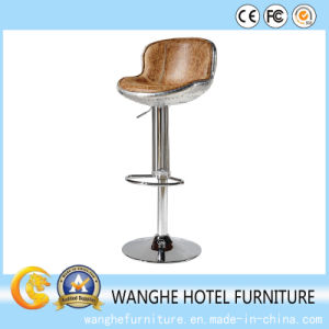 Industrial Metal Furniture Leather Bar Stools pictures & photos