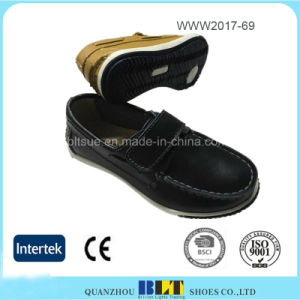 Magic Button High Quality Rubber Outsole Flat Shoes for Women pictures & photos