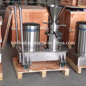 Stainless Steel Jmf-120 Mobile Bitumen Colloid Mill with Trolley pictures & photos