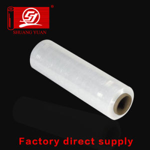 Stretch Film for Pallet Wrap Machine or Manual Virgin Plastic LLDPE pictures & photos