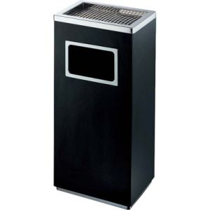 Luxury Retangle Trash Can with Top Ashtray for Hotel Lobby pictures & photos