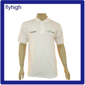 High Quality Patched Logo Embroidery Fashion Polo Shirt pictures & photos