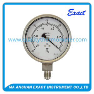 Stainless Steel Vacuum Pump Pressure Gauge pictures & photos