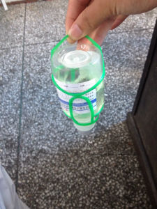 250ml 500ml Hanger for Plastic Infusion Bottle pictures & photos