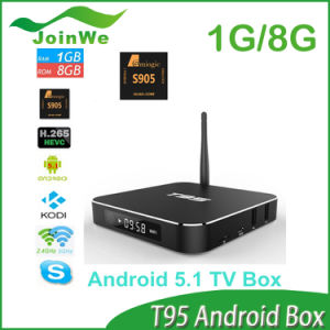 T95 TV Box Amlogic S905 Android 5.1 pictures & photos