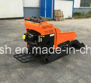 Fully Hydraulic 9HP, 500kgs Rubber Track Mini Dumper/Power Barrow/Muck Truck/Garden Transporter/Loader/Mini Transporter/Crawler Dumper/Wheel Barrow/Track Dumper pictures & photos