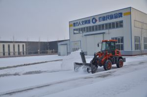 High Quality Strong Shovel Loader Oj-16 with Snow Plough pictures & photos
