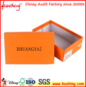 Foldable Corrugated Box Shoe Box Packaging Carton Box with Custom Printing pictures & photos