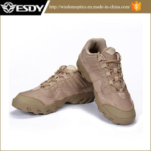 2017 Men′s Army Light Tactical Boots Comfortable Breathable Shoes Tan pictures & photos