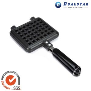 Household Waffle Tray with Anti Scald Handle
