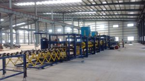 F Multifunctional Color Steel Sandwich Panel Production Line pictures & photos