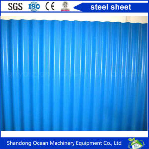 Corrugated Color Steel PPGI Roofing for Roof Material on Steel Strucure Building pictures & photos