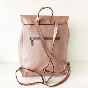 Designer Lady PU Backpack Fashion Leather Bag (NMDK-040506) pictures & photos
