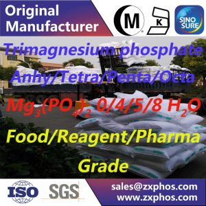 Magnesium Phosphate Mg3 (PO4) 2.0/4/5/8H2O pictures & photos