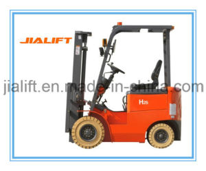 3 Ton Four Wheel Electric Forklift E30h with AC Motor pictures & photos